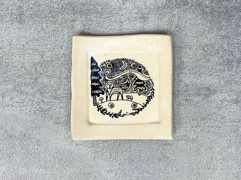 Fox Soap Dish by Magpie Mischief