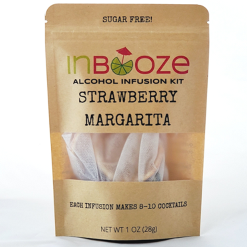 Strawberry Margarita Infusion Kit by InBooze