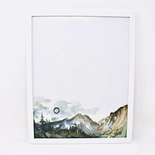 Simple Mountains Print