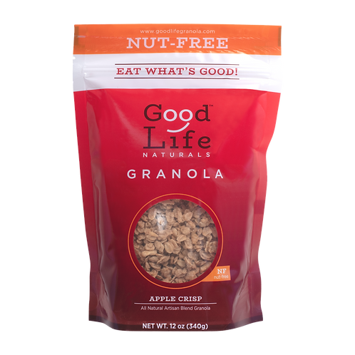 Apple Crisp Nut-Free Granola by Good Life Naturals