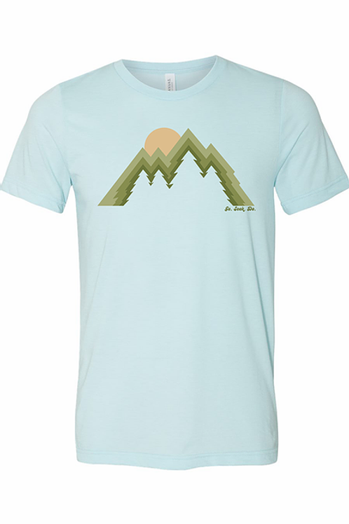 Tree Peaks Short Sleeve Tee by SEEK