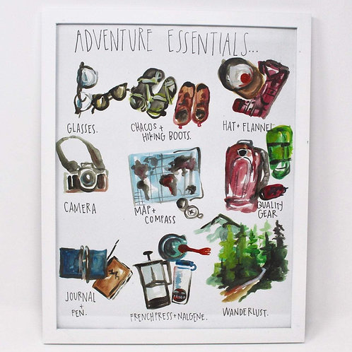 Adventure Essentials Print