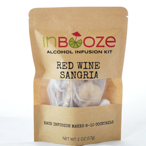Red Wine Sangria Infusion Kit by InBooze