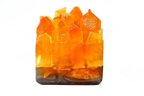 Citrine Gemstone Soap by House of Korē