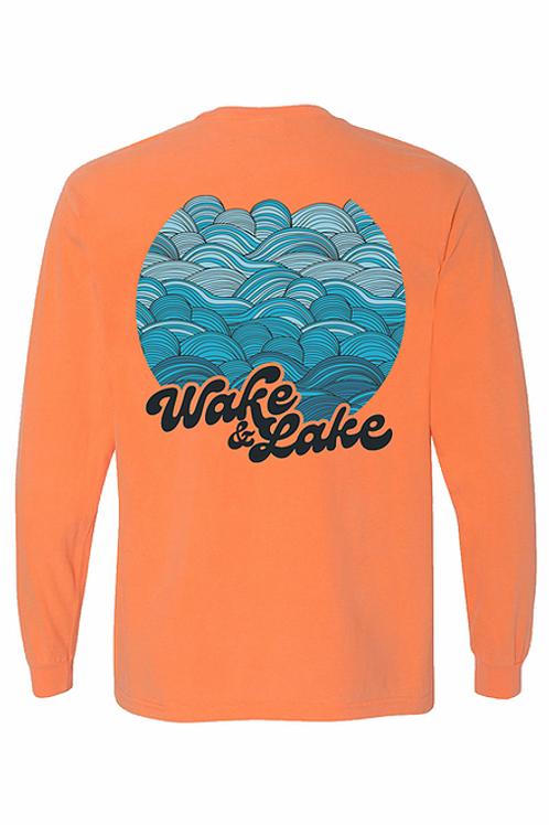 Wake & Lake Long Sleeve Tee by SEEK