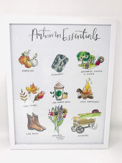 Autumn Essentials Print