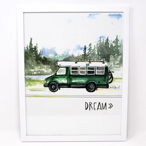 Dream Bus Print