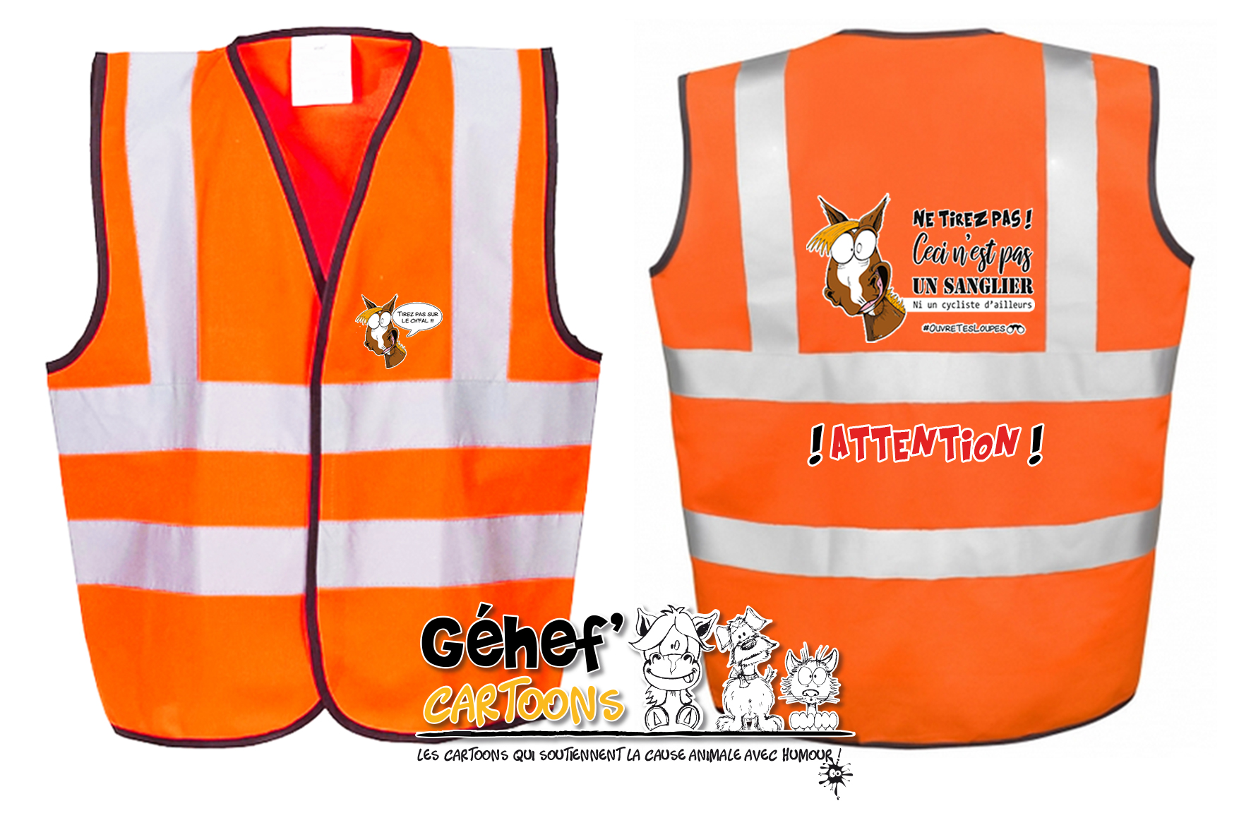 gilet-enft-HVW100CH-orange-tirezpaschfal