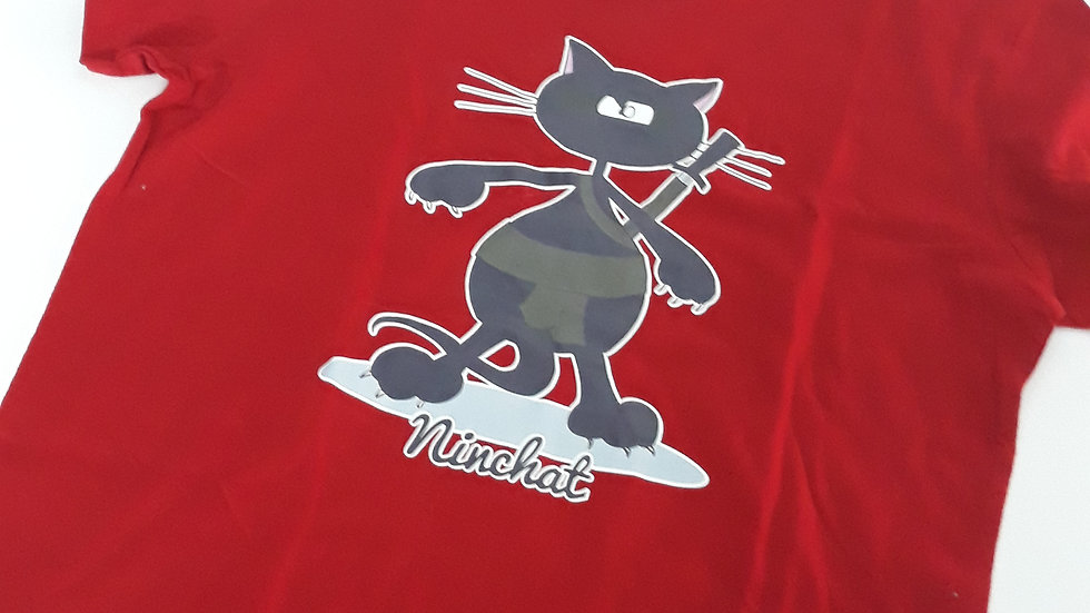 """Tee-shirt femme """"Ninchat"""" - Taille L"""