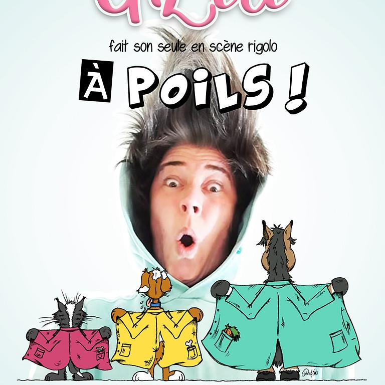 """GiZèle - """"À poils !"""" - Samedi 21/08 - 15€"""