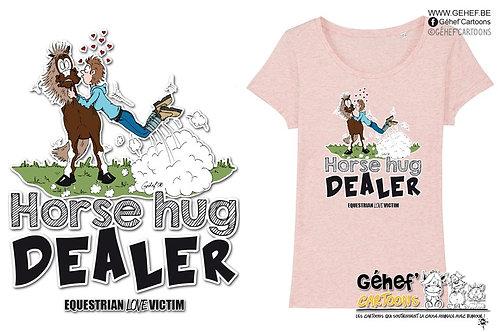 Tee-shirt femme - HORSE HUG DEALER - SS017