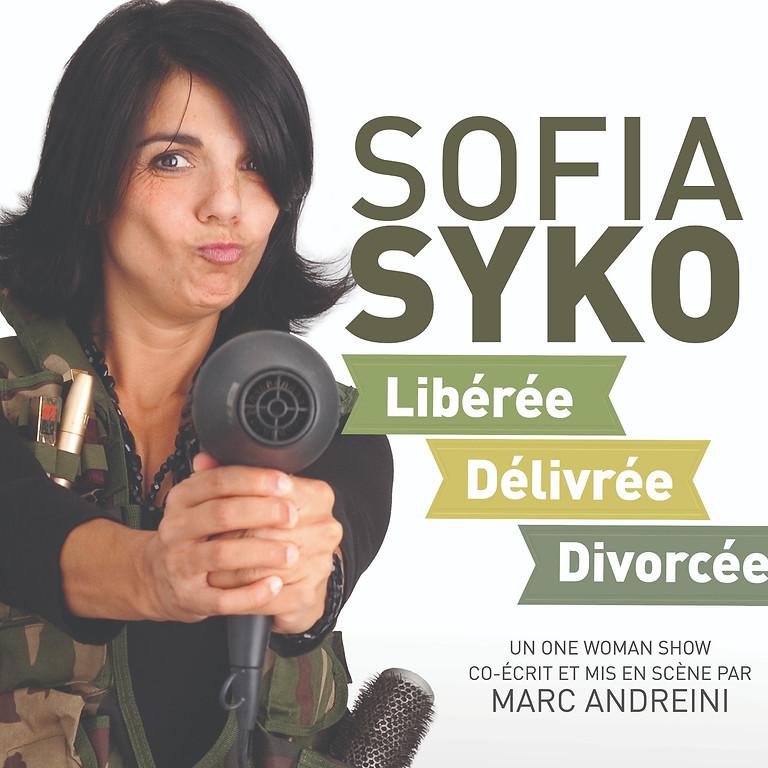 Sofia Syko  - Dimanche 22/08 - 20€