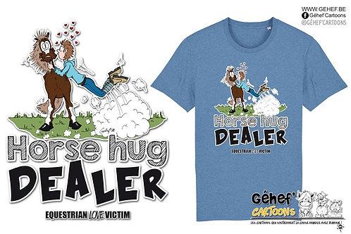 Tee-shirt Unisex - HORSE HUG DEALER - SS755
