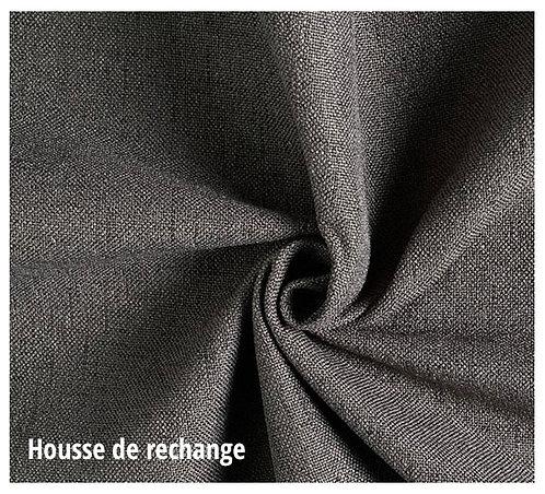 Housse de rechange - Matelanimo© Robuste - Gris foncé