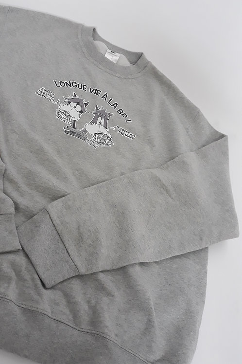 "Sweat-shirt unisex ""Vive la BD"" - Taille XL"