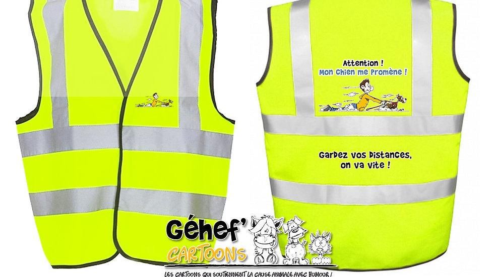 Gilet haute visibilité enfant - PROMENADE CHIEN - HVW100CH
