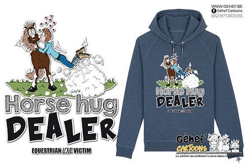 Sweat-shirt Unisex - HORSE HUG DEALER - SS824
