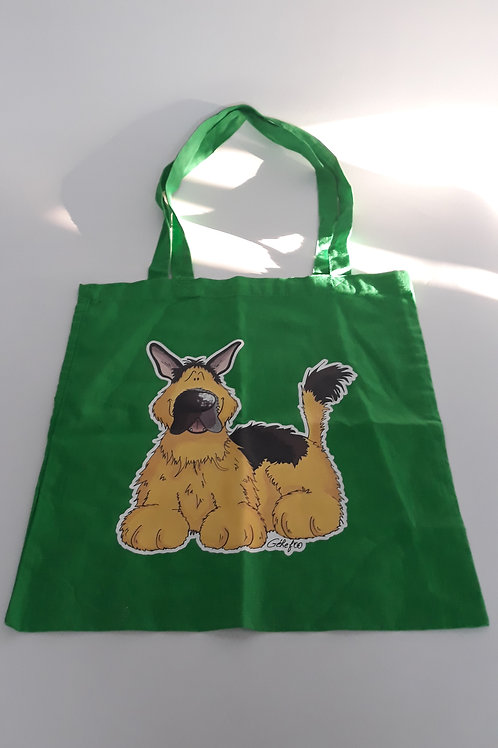 "Tote bag en coton ""Berger Allemand"""