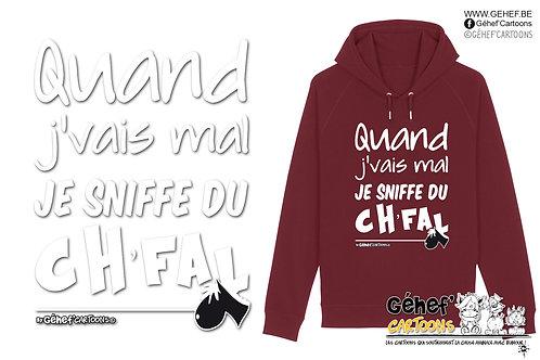 Sweat-shirt Unisex - Sniffe du ch'fal - SS824