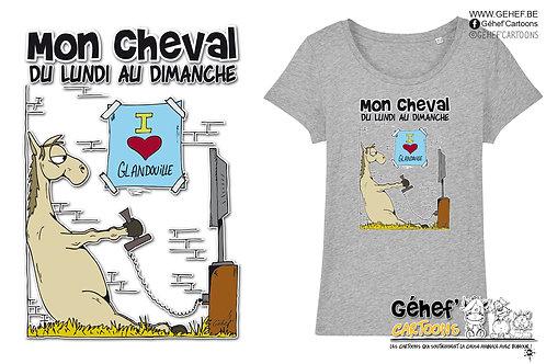 Tee-shirt femme - GLANDOUILLE - SS017