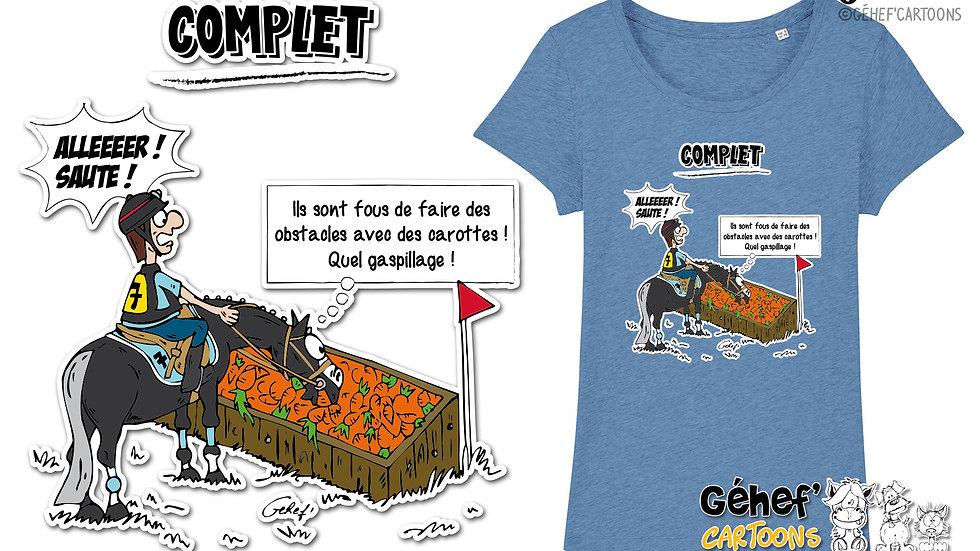 Tee-shirt femme - TFKATC COMPLET - SS017
