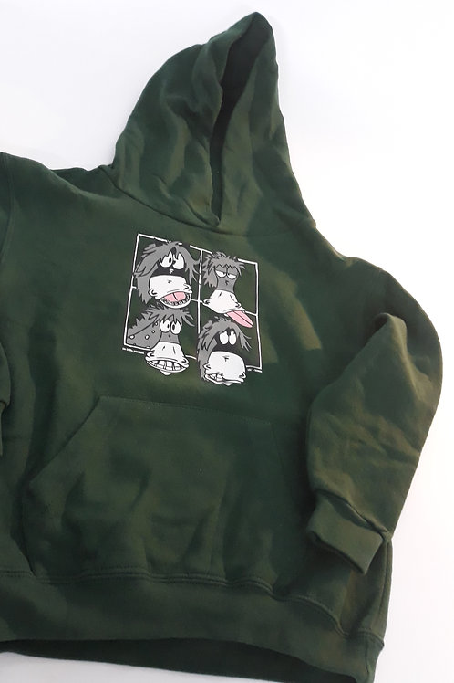 """Sweat-shirt kids """"Tronches"""" - Taille 7/8 ans"""