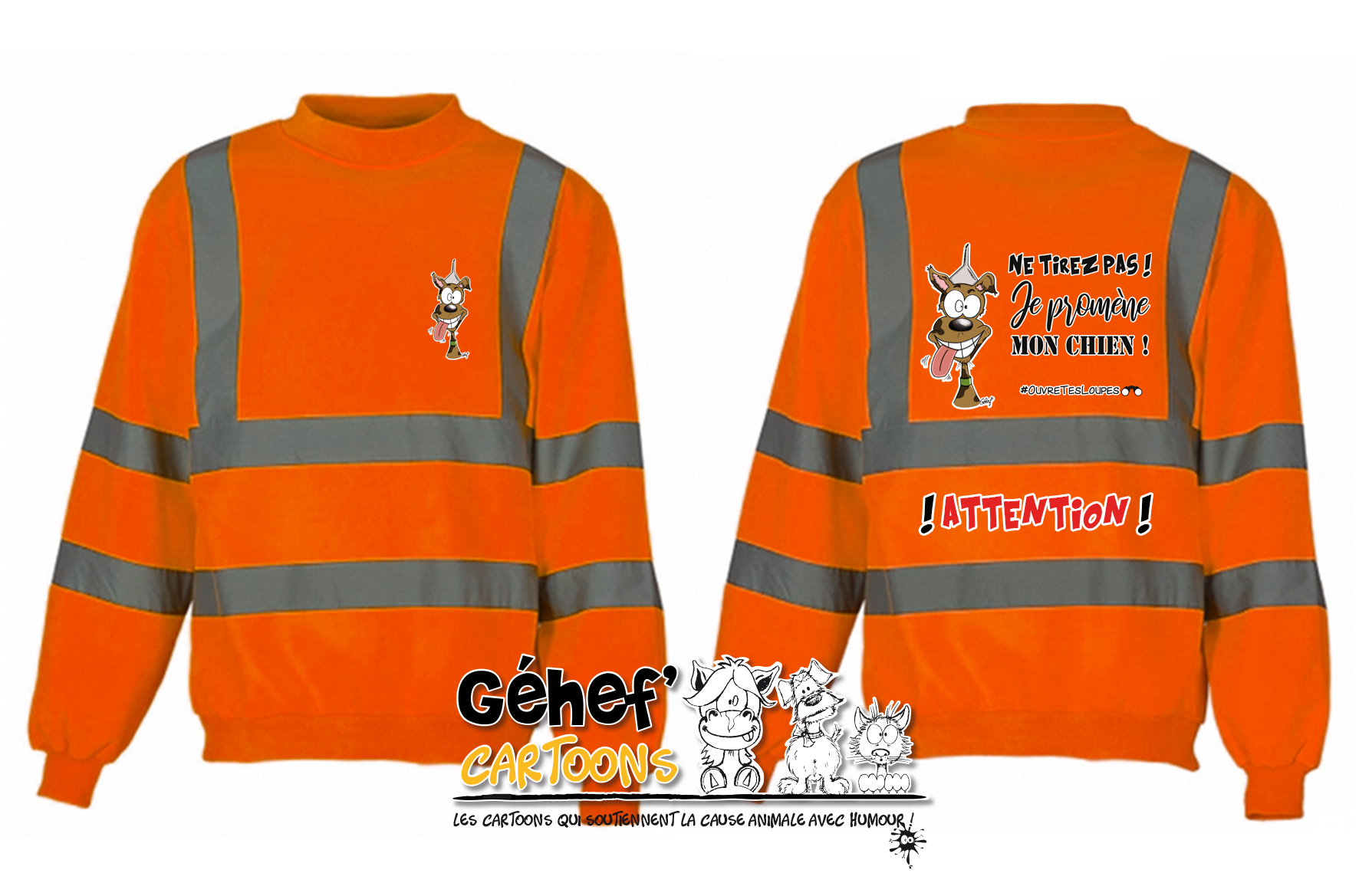 sweat-HVJ510-orange-tirezpaschien