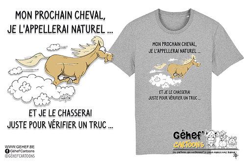 Tee-shirt Unisex - NATUREL AU GALOP - SS755
