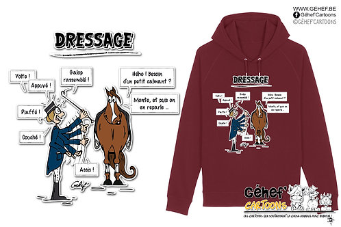 Sweat-shirt Unisex - TFKATC DRESSAGE - SS824