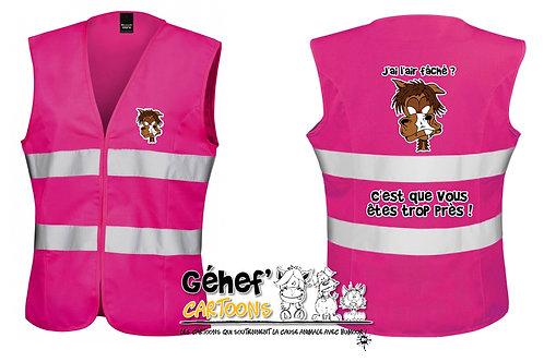 Gilet haute visibilité femme - DISTANCES - R334F