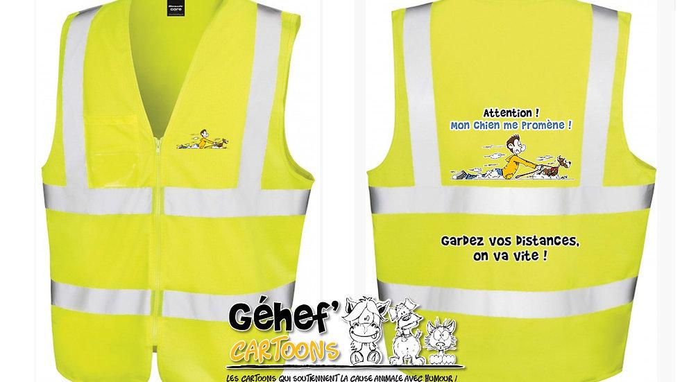 Gilet haute visibilité unisex - PROMENADE CHIEN - R202X