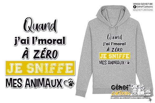 Sweat-shirt Unisex - Sniffe animaux - SS824