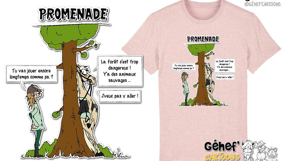 Tee-shirt Unisex - TFKATC PROMENADE - SS755