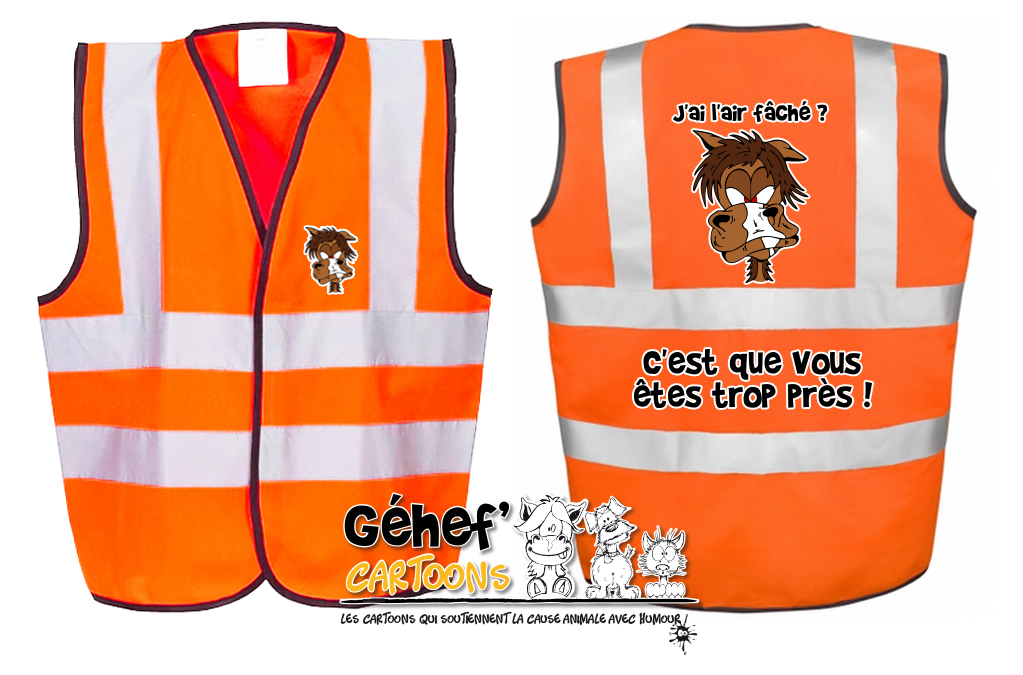 gilet-enft-HVW100CH-orange-distances