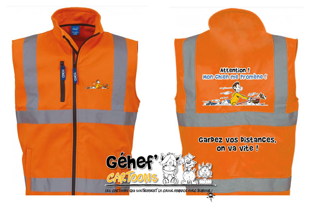 bodywarmer-softshell-HV006-orange-promen