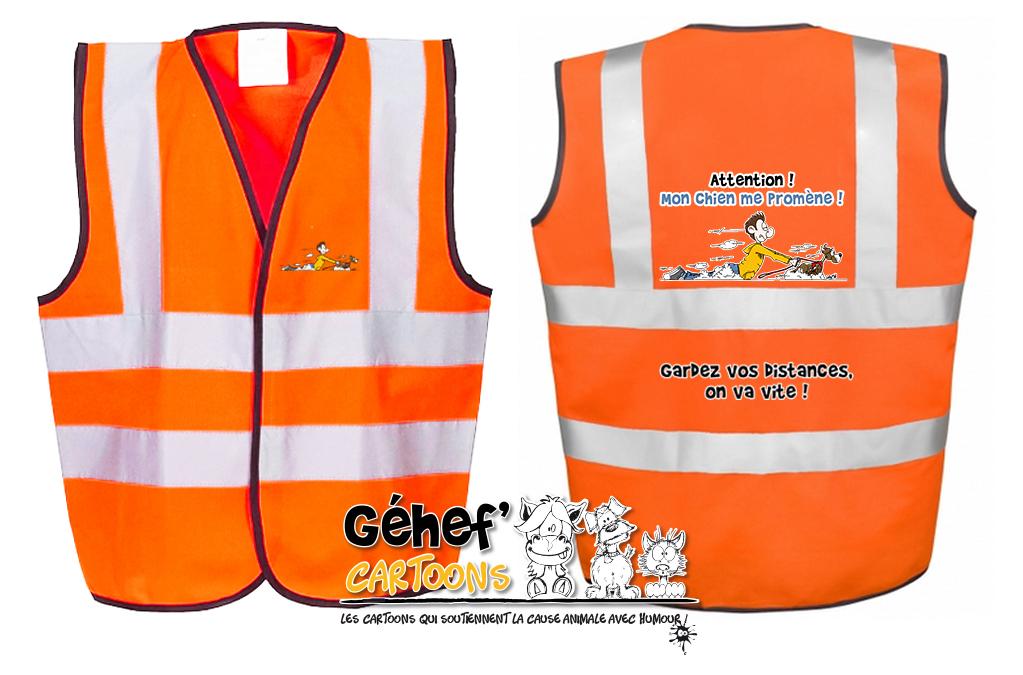 gilet-enft-HVW100CH-orange-promenadechie