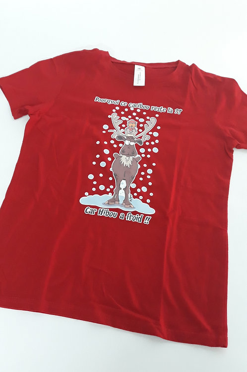 """Tee-shirt femme """"Caribou"""" - Taille S"""