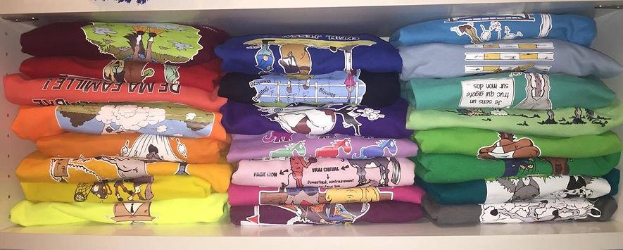 Textiles illustrés Géhef'Cartoons