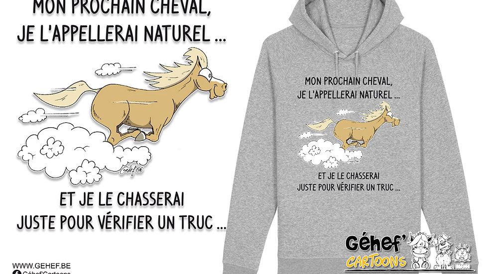 Sweat-shirt Unisex - NATUREL AU GALOP - SS824