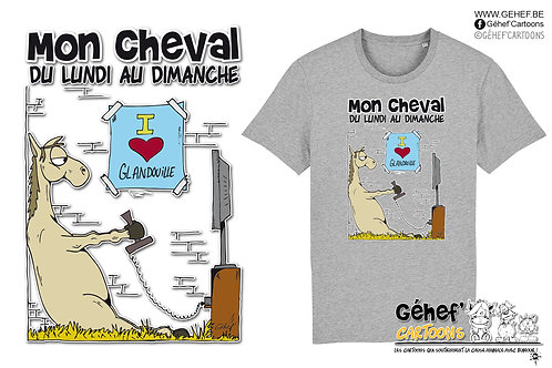 Tee-shirt Unisex - GLANDOUILLE - SS755