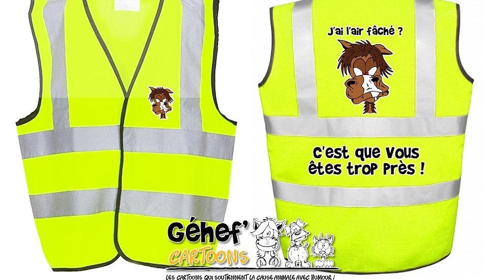 Gilet haute visibilité enfant - DISTANCES - HVW100CH
