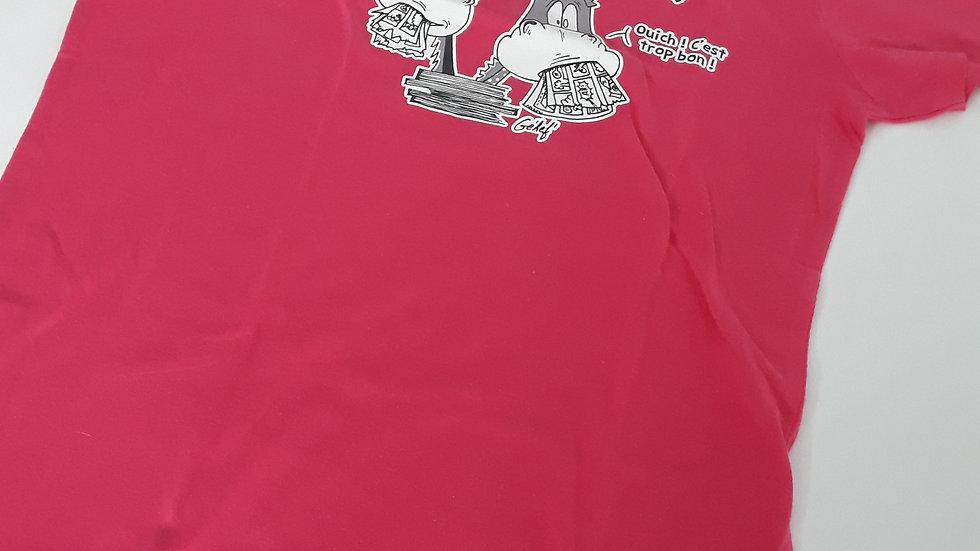 """Tee-shirt femme """"Vive la BD"""" - Taille S"""