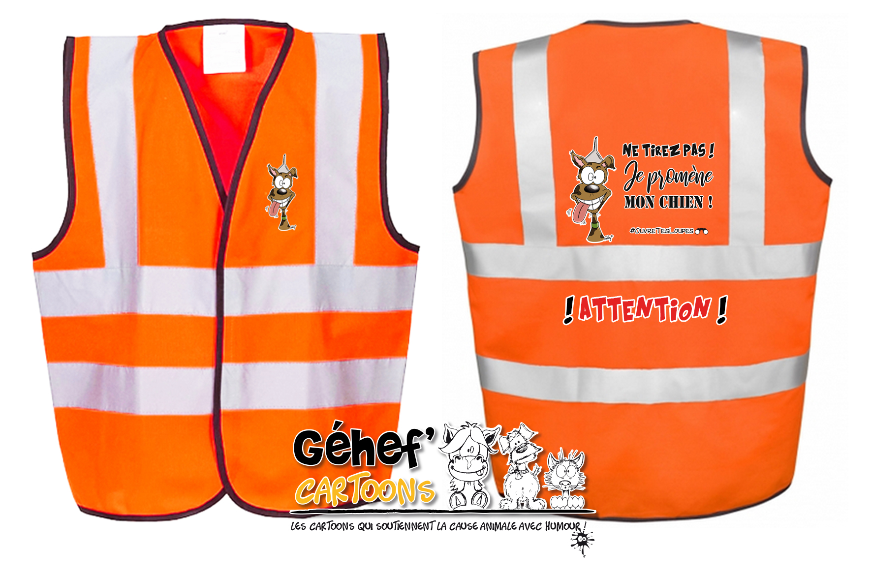 gilet-enft-HVW100CH-orange-tirezpaschien
