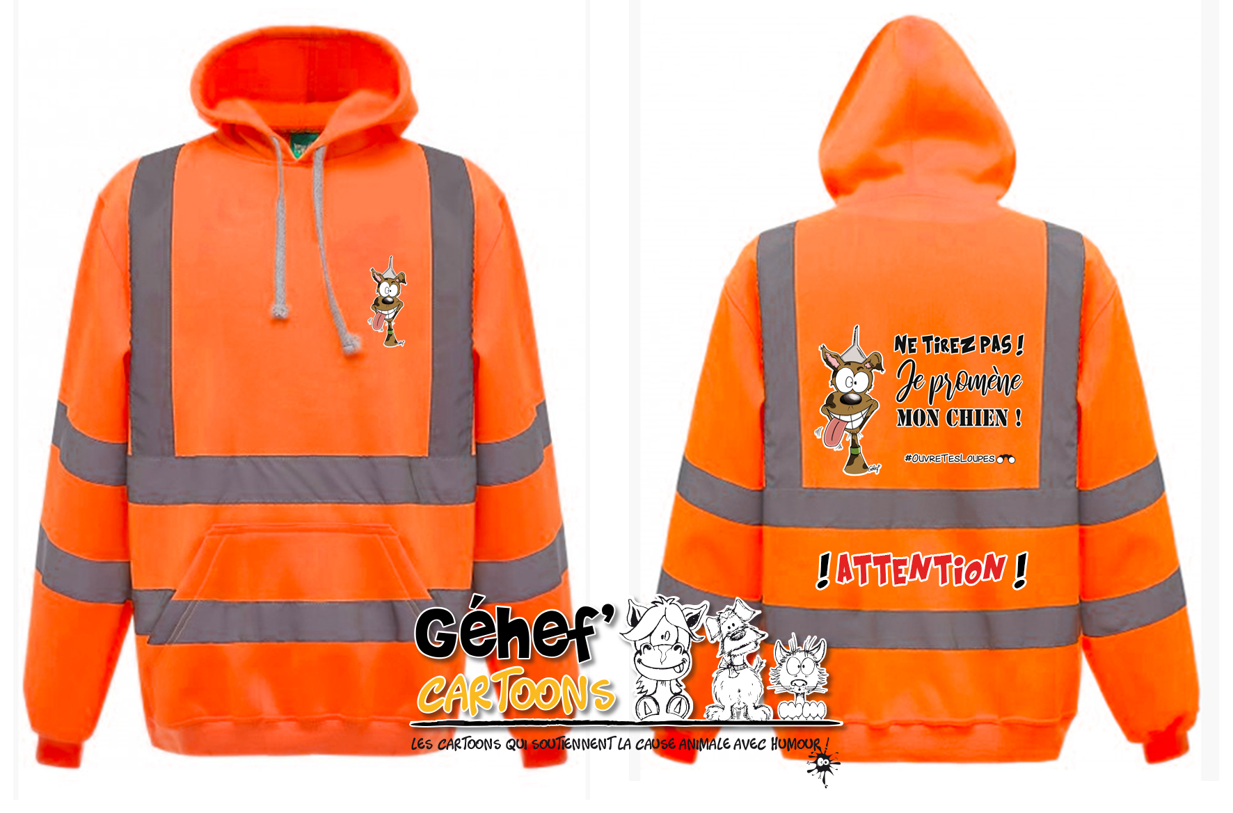 sweat-HVK05-orange-tirezpaschien