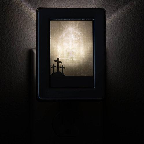 Silver Frame Night Light