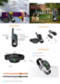 Remote Training Collars For Dogs -T410 (