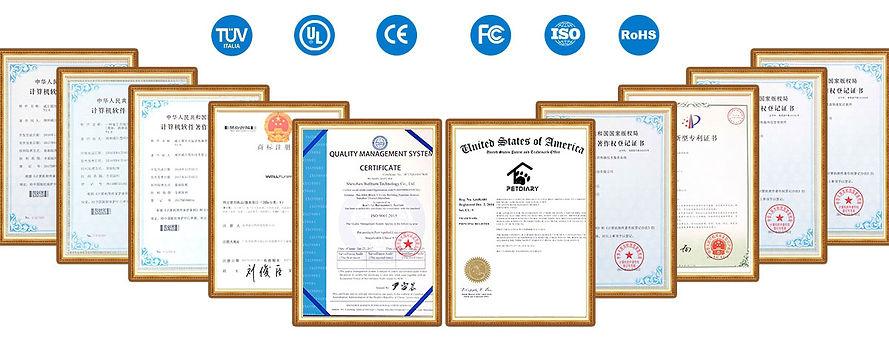petdiary certificate
