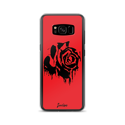 RED BLEEDING ROSE SAMSUNG CASE