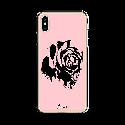 PINK BLEEDING ROSE PHONE CASE