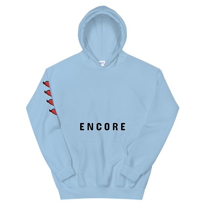 ENCORE DEVIL HEART PULLOVER HOOD